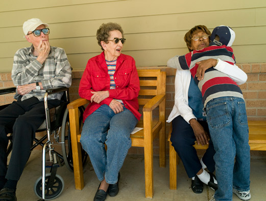 Green House residents share in each other's lives.